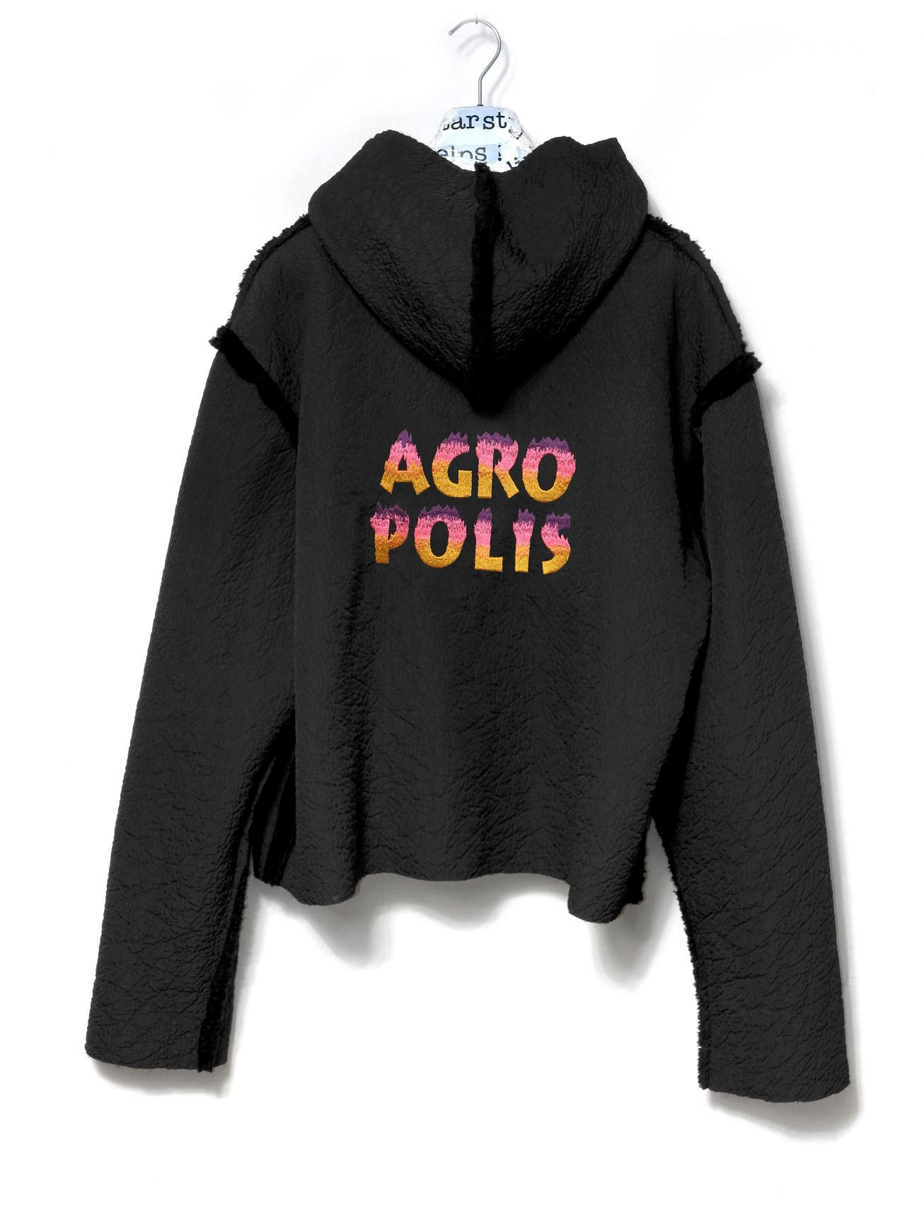 FUR AGRO HOODED JACKET - 0