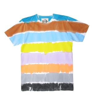 PAINTED HORIZONTAL T-SHIRT