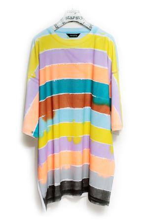 PAINTED HORIZONTAL BIGSHIRT