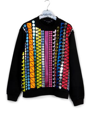 PATTERN LINES SWEATER
