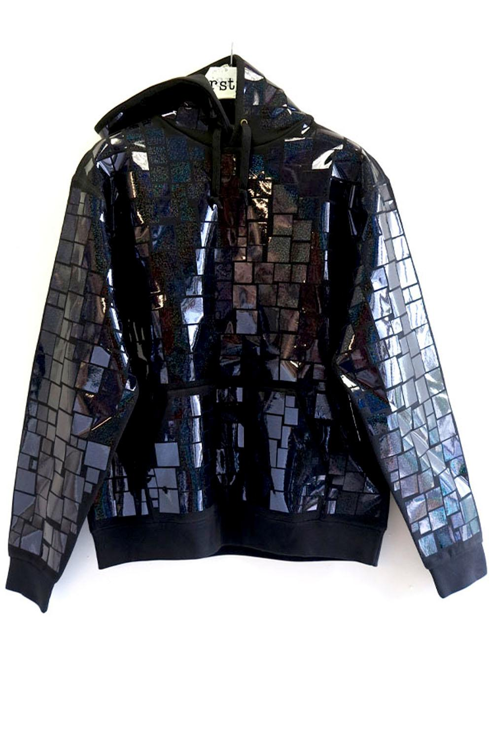 MOSAIC ALLOVER HOODY - 5