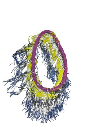 FRINGES ALL OVER NECKLACE