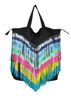 PAINTED FRINGES BAG
