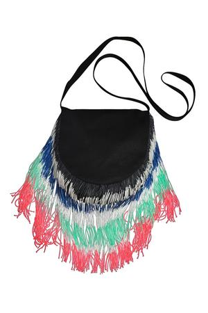 FRINGES SHOULDER BAG