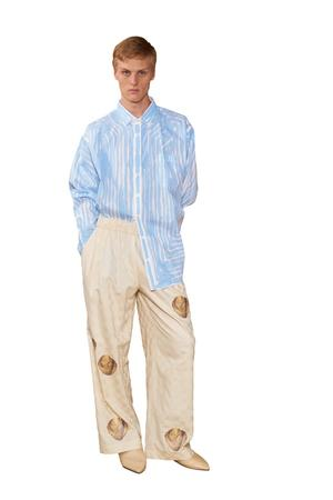 Agamemnon Wide Trousers - 0