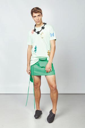 BAG Wrap SHORT SKIRT - 2