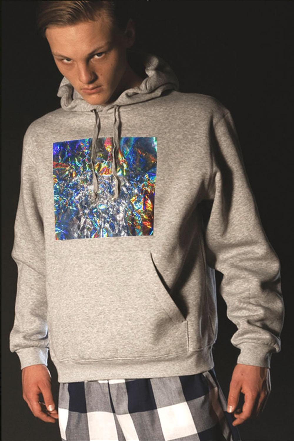 BIG SQUARE HOODY - 3
