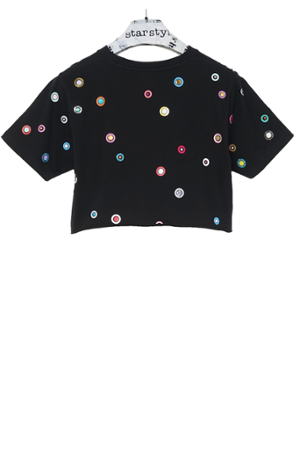 Bindi Cropped T-Shirt - 0