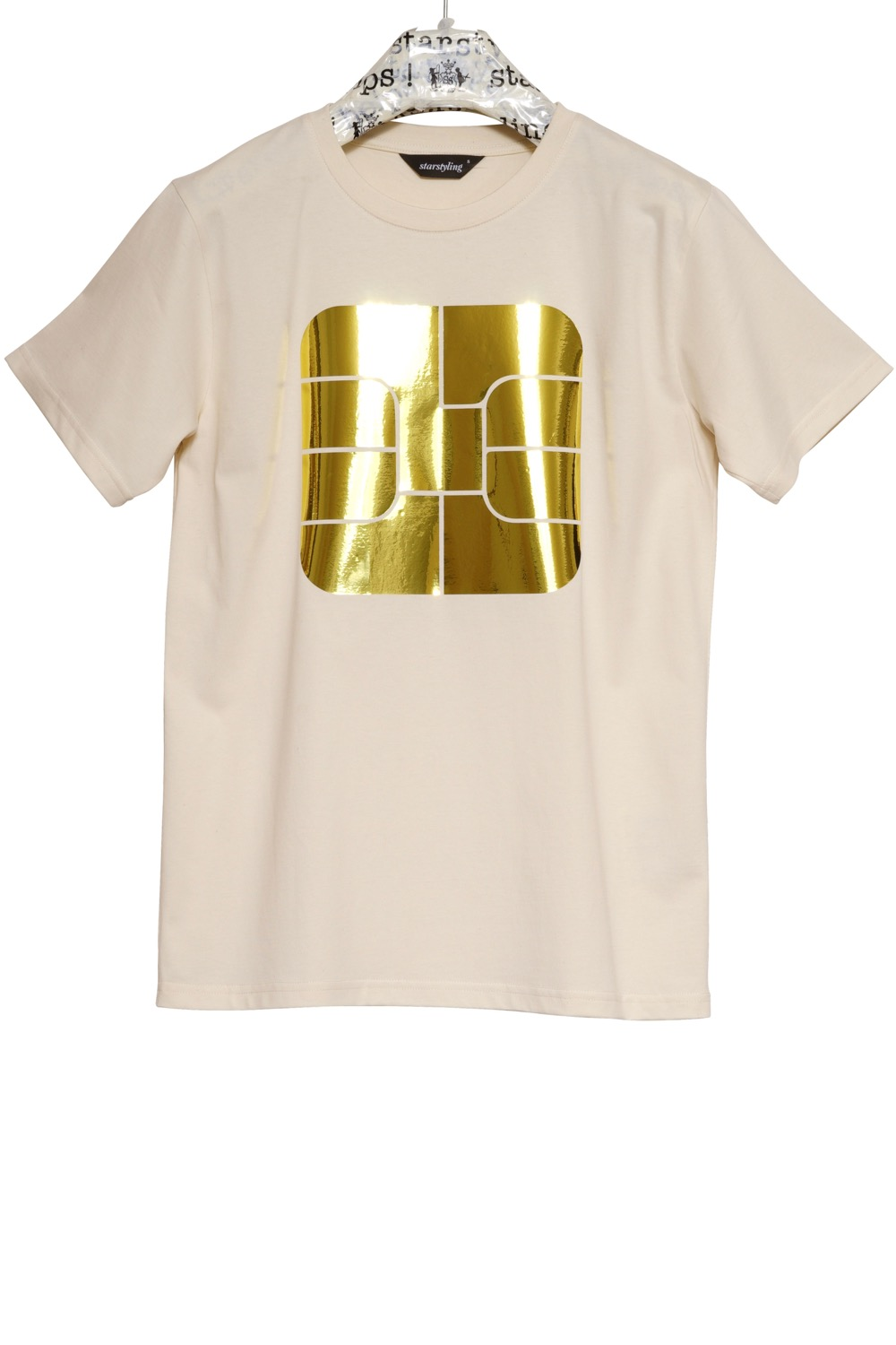Chip Square T-Shirt - 2