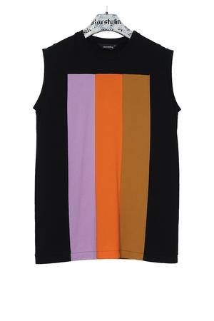 Division Muscle Shirt - warme Farben