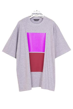 Double Square Bigshirt - 3