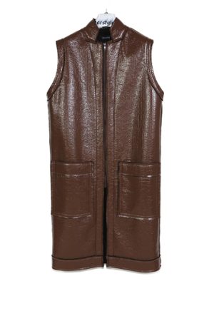 Earth long vest