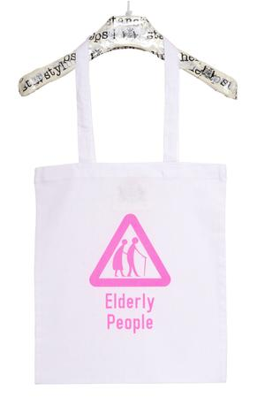 Elderly People Tote Bag