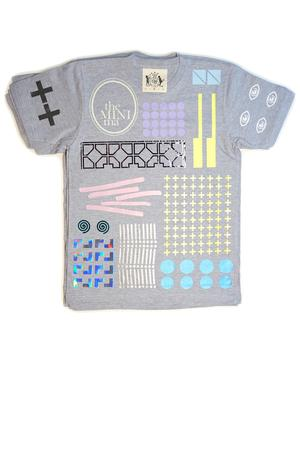 Everything Allover T-Shirt (grey) - 7