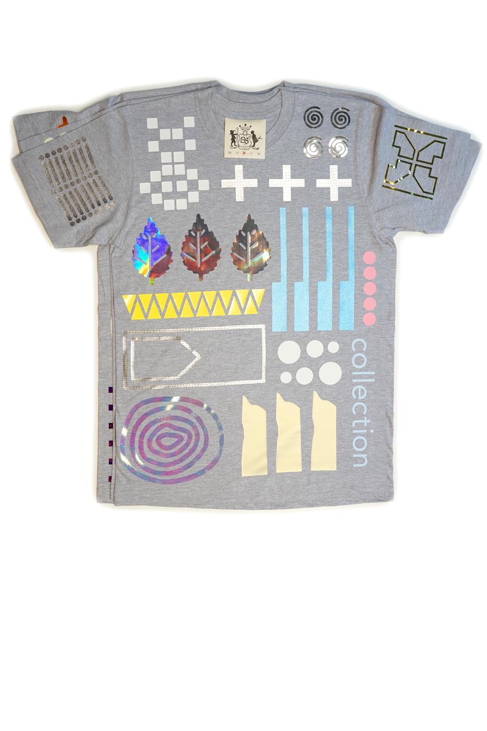 Everything Allover T-Shirt (grey) - 8