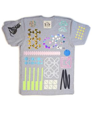 Everything Allover T-Shirt (grey) - 3