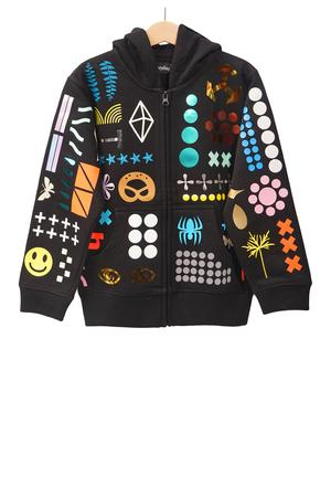 Everything Allover Zip Jacket Kids - 0