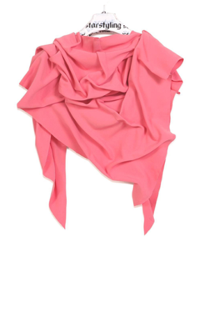 Flesh triangle scarf