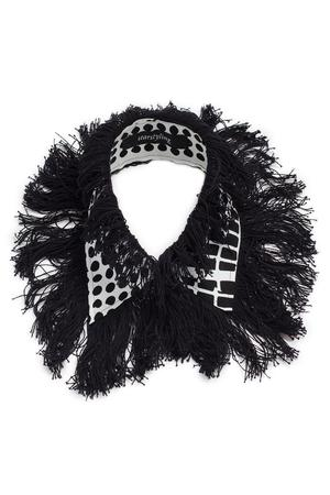 FOIL & FRINGES COLLAR