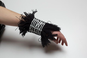 FOIL & FRINGES CUFFS - 1