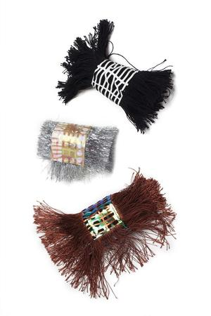 FOIL & FRINGES CUFFS