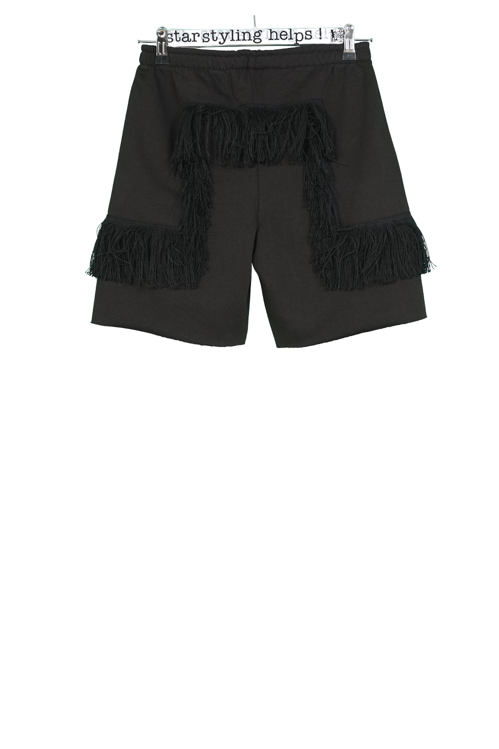 Geo-Fringes Shorts
