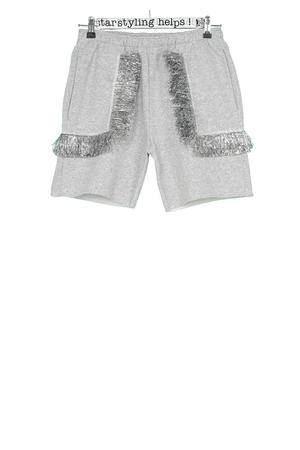 Geo-Fringes Shorts - 2
