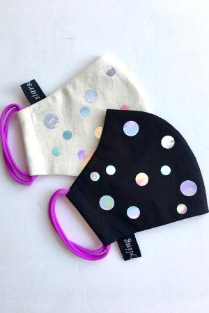Facemask Holo Dots