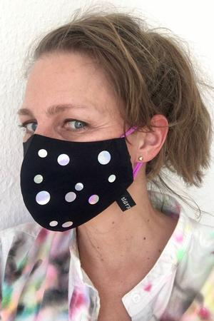 Facemask Holo Dots - 1