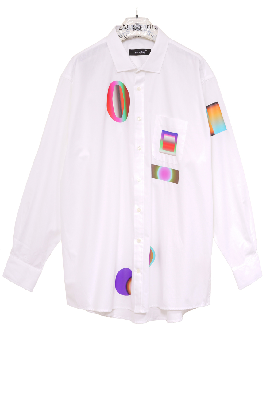 Gradient Classic Men Shirt