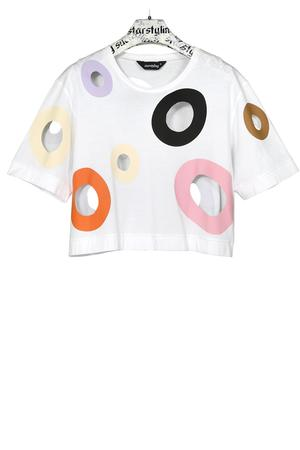 Holes Short Shirt - warme Farben