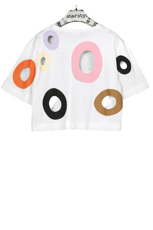Holes Short Shirt - warme Farben - 0