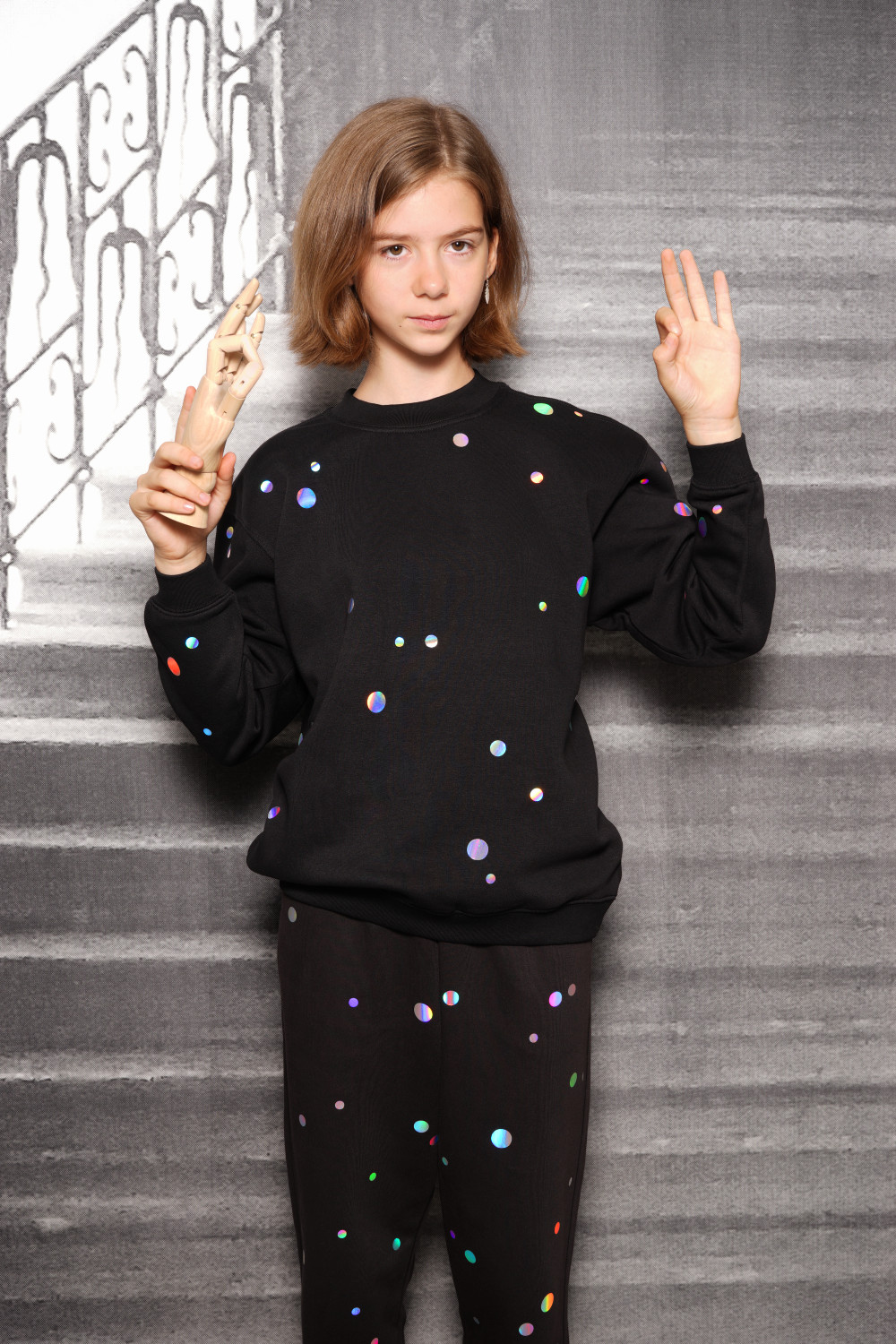 Holo Dots Sweater Kids - 0