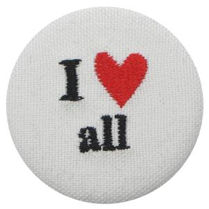 I LOVE ALL BUTTON