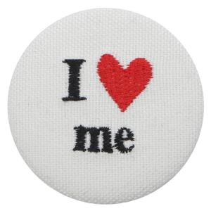 I LOVE ME BUTTON