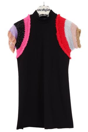 Knitted Arm Mini Dress