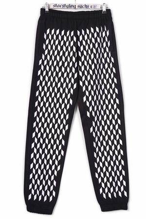 Mini Rhombus Allover Joggers