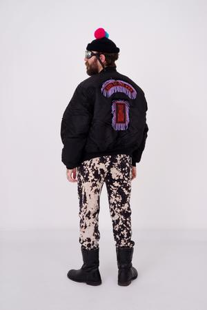 Moped Rider Bomber Jacket - 3