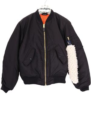 Moped Rider Bomber Jacket
