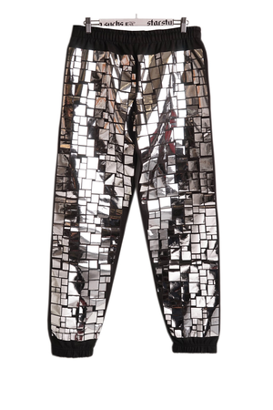 MOSAIC ALLOVER JOGGERS