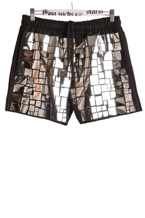 MOSAIC ALLOVER SHORTS