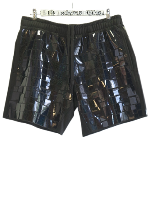 MOSAIC ALLOVER SHORTS - 0
