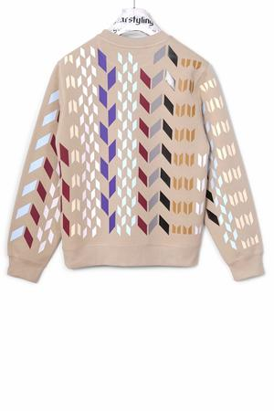 Multi Rhombus Allover Sweater Multi - 0