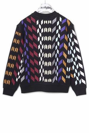 Multi Rhombus Allover Sweater Multi - 1