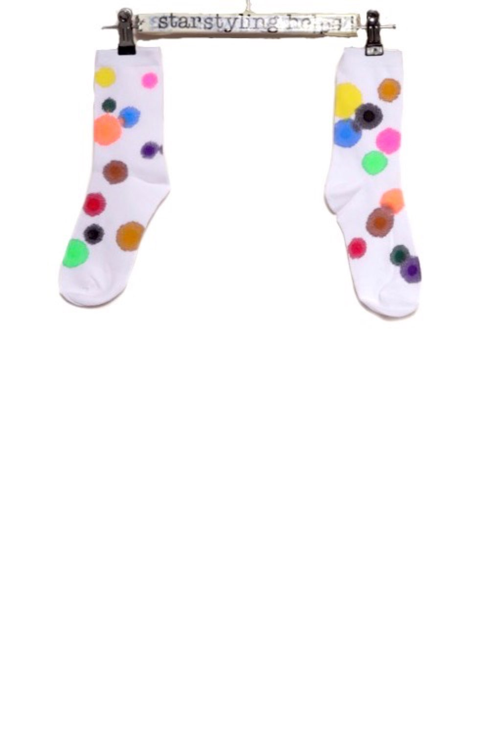 Painted Points Socks