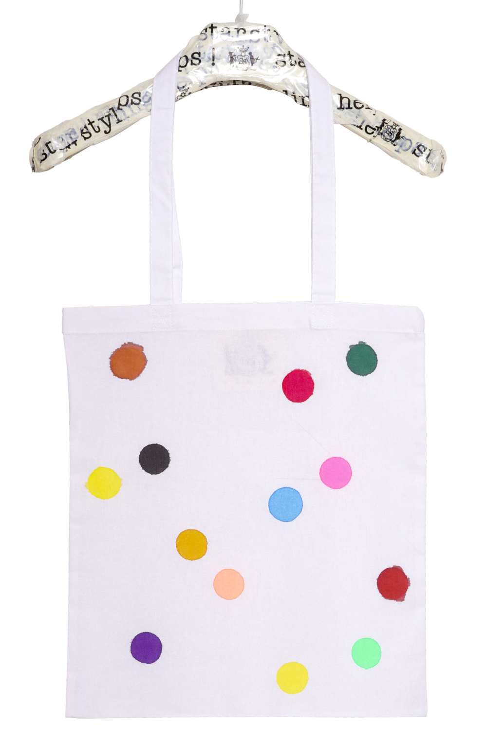 Painted Points Tote Bag