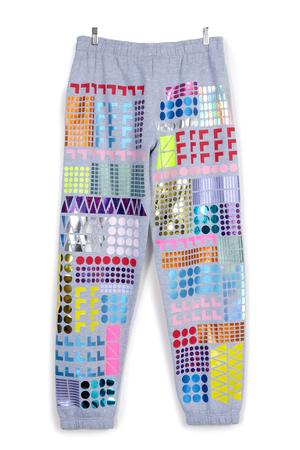 PATTERN ALLOVER JOGGERS