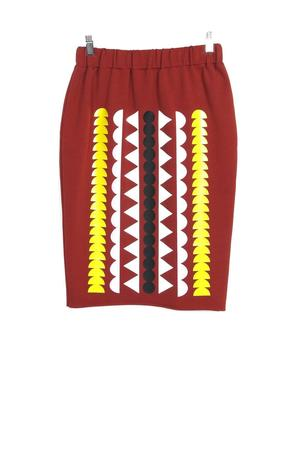 PATTERN STRIKES PENCIL SKIRT