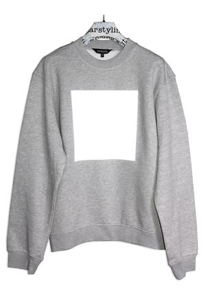 REFLECT BIG SQUARE SWEATER
