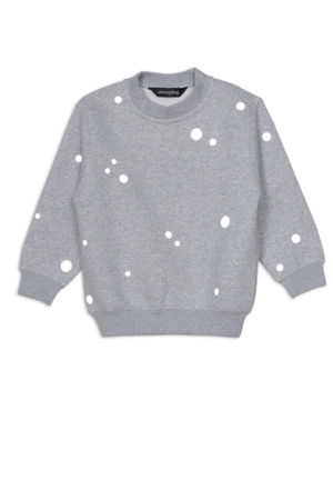 Reflective Dots Sweater Kids